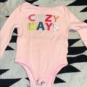 Cozy day thermal onesie